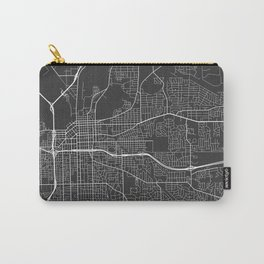 Montgomery Map, USA - Gray Carry-All Pouch