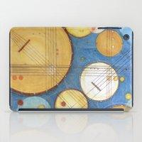 kandinsky iPad Cases featuring doodling banjos by Beth Jorgensen