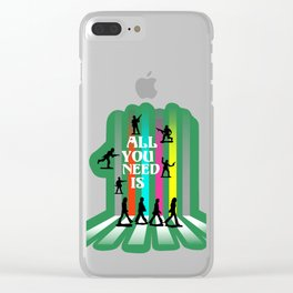All You Need Is Clear iPhone Case