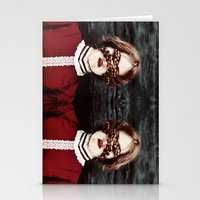 third eye Stationery Cards featuring Third Eye by elle moss