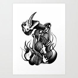 Criação Art Print