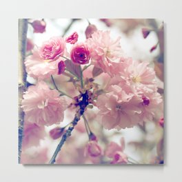 Floral Ballet Metal Print