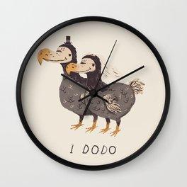 i dodo Wall Clock