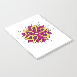 Lotus Mandala Notebook