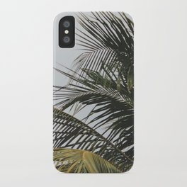 palm treee iPhone Case