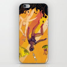 La chute vers le haut (The Upward Fall) iPhone & iPod Skin