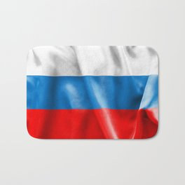 Russian Federation Flag Bath Mat