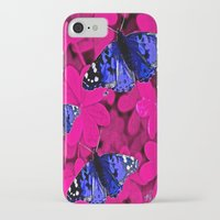 butterfly iPhone & iPod Cases featuring  Butterfly  by Saundra Myles