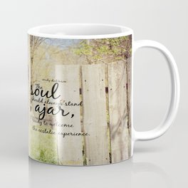Emily Dickinson Quote Soul Ajar Coffee Mug