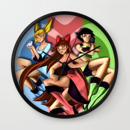 PPG Wall Clock