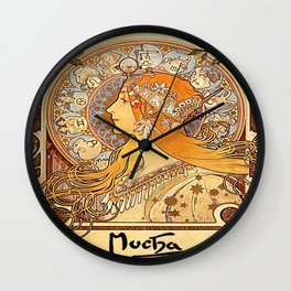 Vintage poster - Zodiac Wall Clock