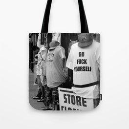 Go Fuck Yourself Tote Bag