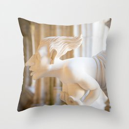 Modern Gargoyle Throw Pillow