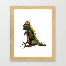 King of the City Framed Art Print