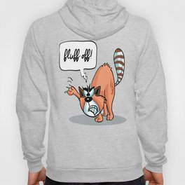Fluff Off! - Angry Cat Hoody