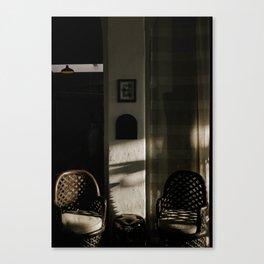 vintage light Canvas Print