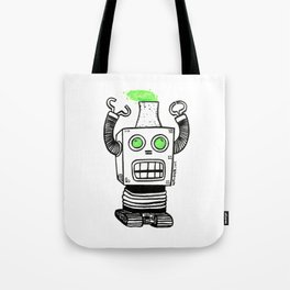Robo-Meltdown Tote Bag