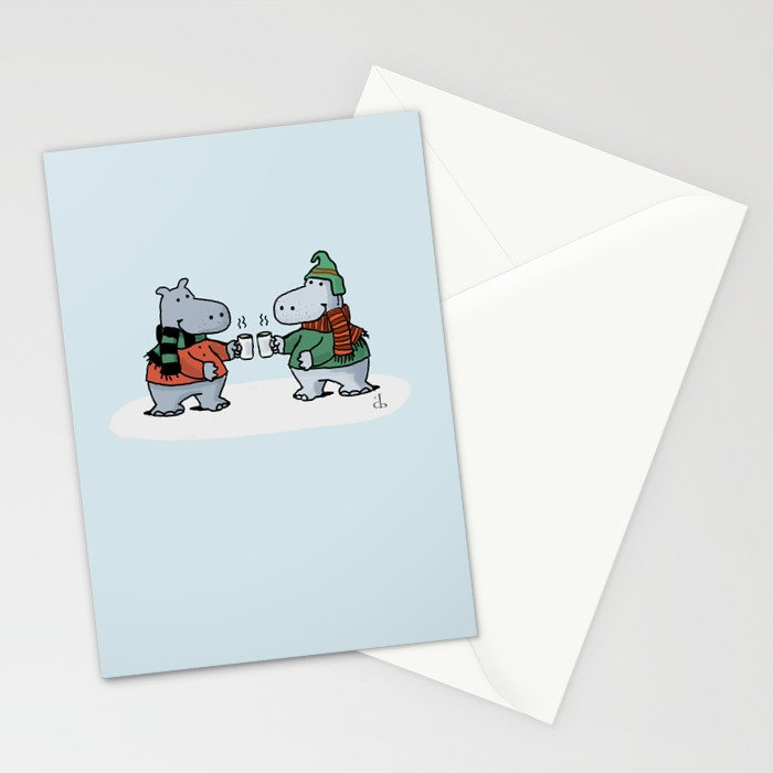 Two Cups Stationery Cards
