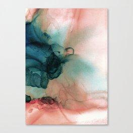 Blue Typhoon Canvas Print