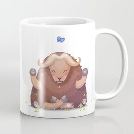 Meditating tibetan yak Coffee Mug