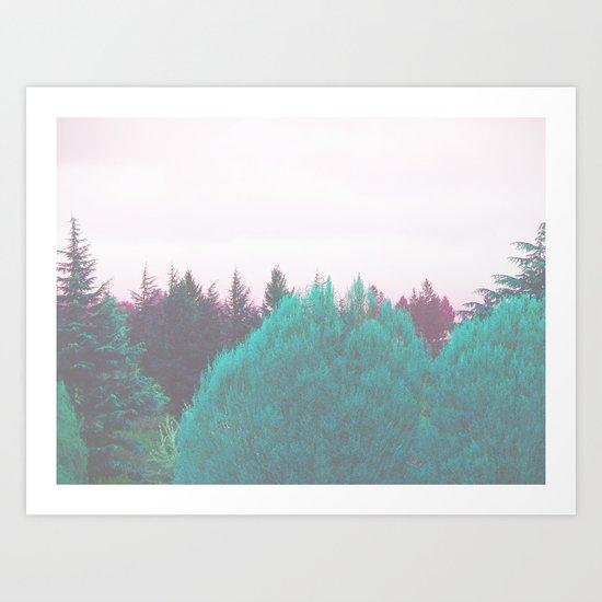 Dreamland Forest Art Print