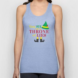 You Sit On a Throne of Lies Unisex Tank Top