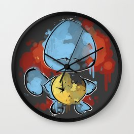 Squir color! Wall Clock