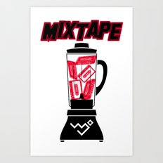 30Billion - Mixtape #30 01 Art Print