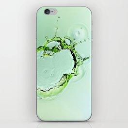 Water Splash iPhone Skin