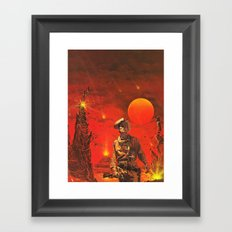 The Wild West Guide To The Galaxy # 179 Framed Art Print