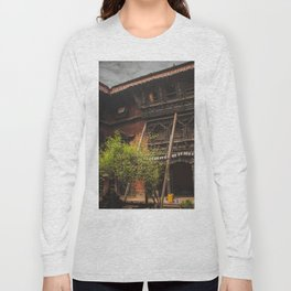 Architecture of Kathmandu City 001 Long Sleeve T-shirt