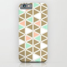 Colored Triangles iPhone 6s Slim Case