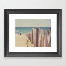 North Beach Framed Art Print
