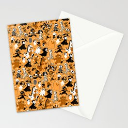 Alt Monster March (Orange) Stationery Cards
