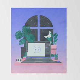 Workspace Throw Blanket