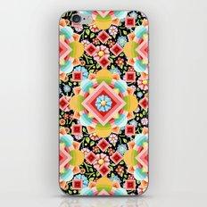 Geometric Chintz Mandala iPhone & iPod Skin