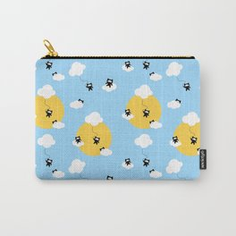 Ninja cats in the sky pattern Carry-All Pouch