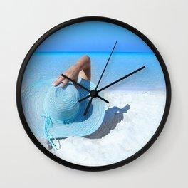 Beach20160102_by_JAMFoto Wall Clock