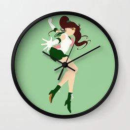 Sailor Jupiter (Green) Wall Clock