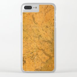 Map of Lunenburg 1864 Clear iPhone Case