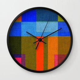 harmony of colors Wall Clock