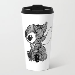 Geometric Stitch Travel Mug