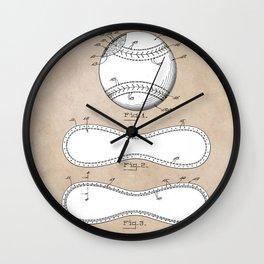patent Maynard Baseball 1927 Wall Clock