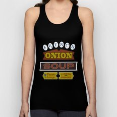 French Onion Soup  Unisex Tank Top