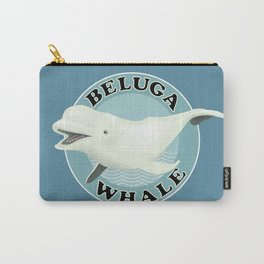 Beluga Whale Carry-All Pouch