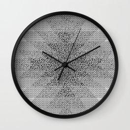 UFOlk 3 Wall Clock