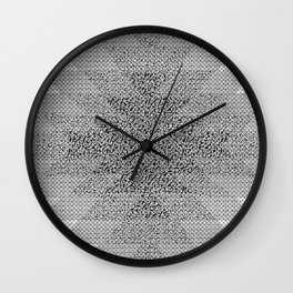 UFOlk 3 Wall Clock