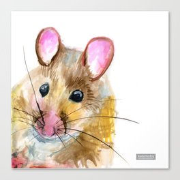 Inky Mouse Canvas Print