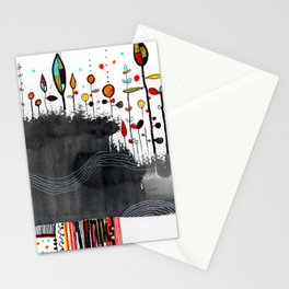 hot stuff drawing Stationery Cards