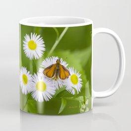 Little Orange Butterfly Coffee Mug